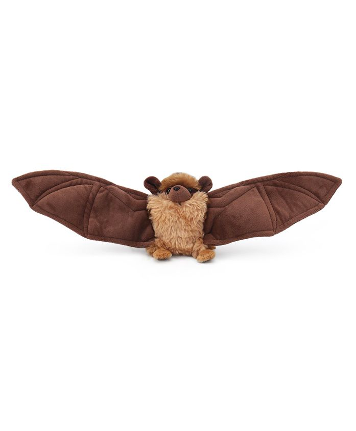 Wild Republic Plush Mini Little Bat Toy Brown - Length 14 cm
