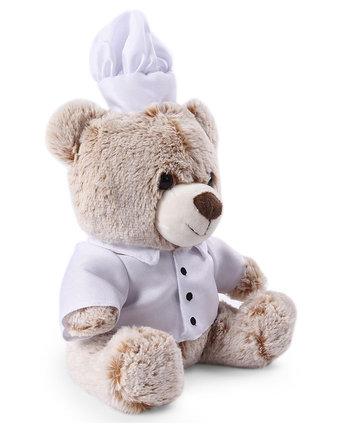 My Baby Excels Teddy Bear Plush Soft Toy Off White - Height 24 cm