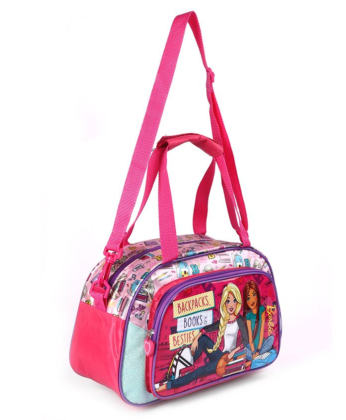 Barbie Duffle Bag Pink - Height 8.2 inches
