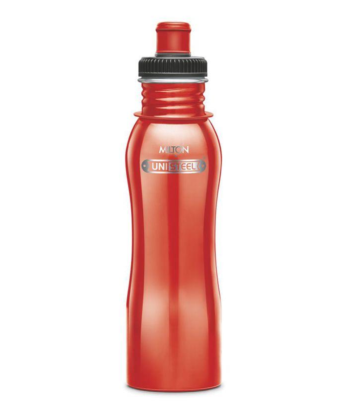 Milton Easy Grip Stainless Steel Fridge Water Bottle Red - 750 ml