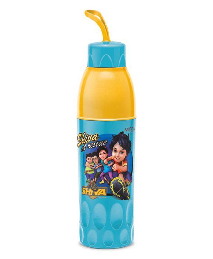 Milton Shiva Water Bottle Blue & Yellow - 650 ml