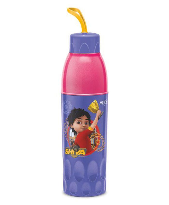 Milton Shiva Water Bottle Purple & Pink - 650 ml