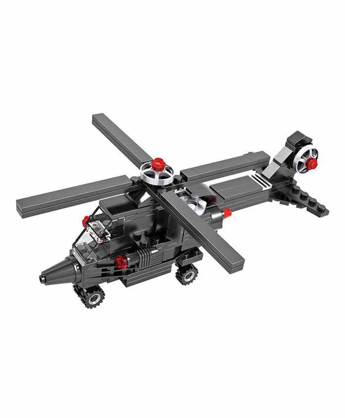 Planet of Toys Creator Building Blocks Set Black - 177 pieces