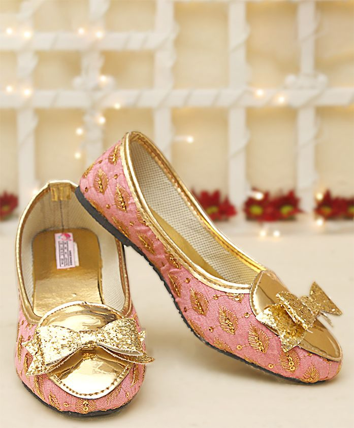 Dchica Bow Applique Loafers - Pink