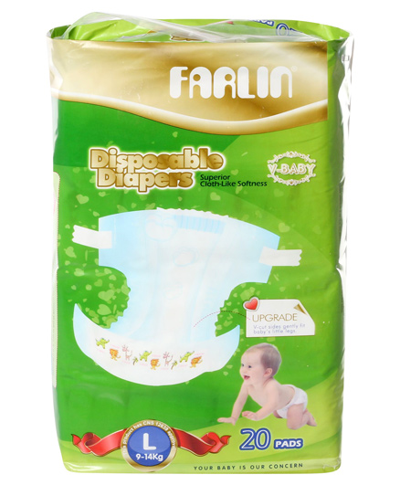 Farlin - Baby Diapers - Large