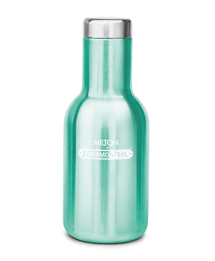 Milton Charm Thermosteel Hot & Cold Water Bottle Green - 360 ml