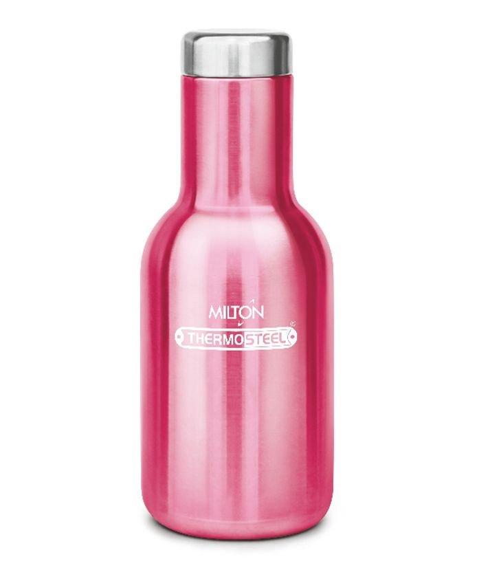 Milton Charm Thermosteel Hot & Cold Water Bottle Pink - 360 ml