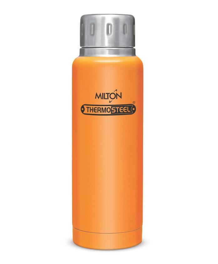 Milton Insulated Elfin Thermosteel Insulated Water Bottle Orange - 300 ml