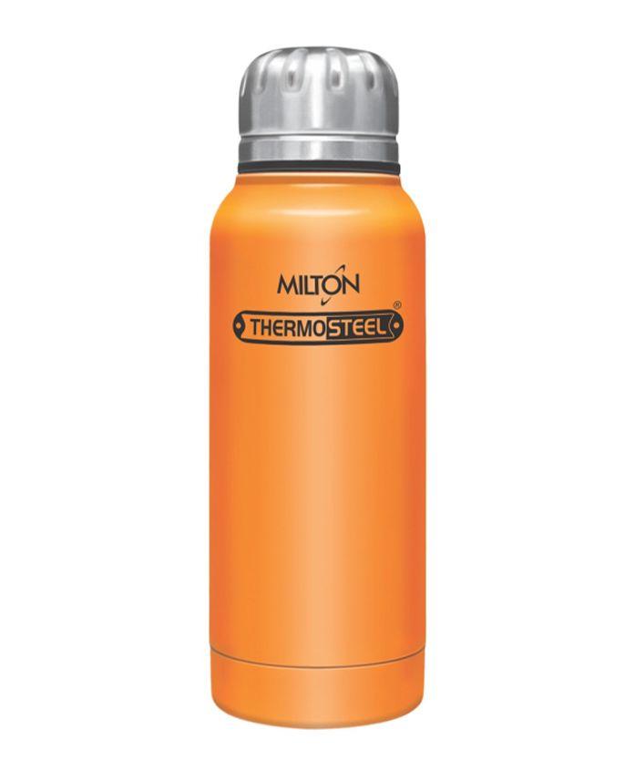 Milton Thermosteel Slender Insulated Bottle Orange - 160 ml