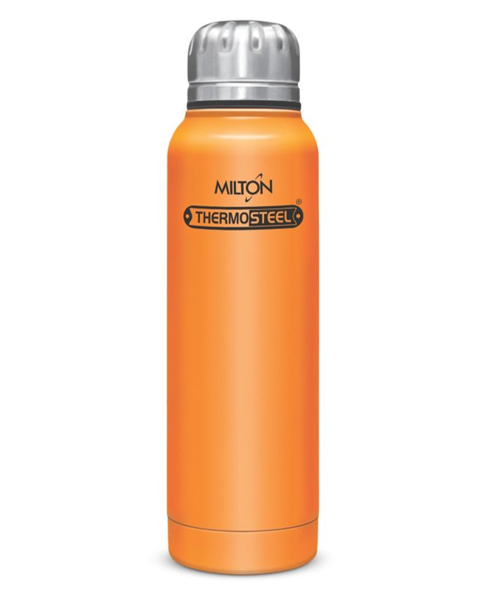Milton Thermosteel Slender Insulated Bottle Orange - 270 ml