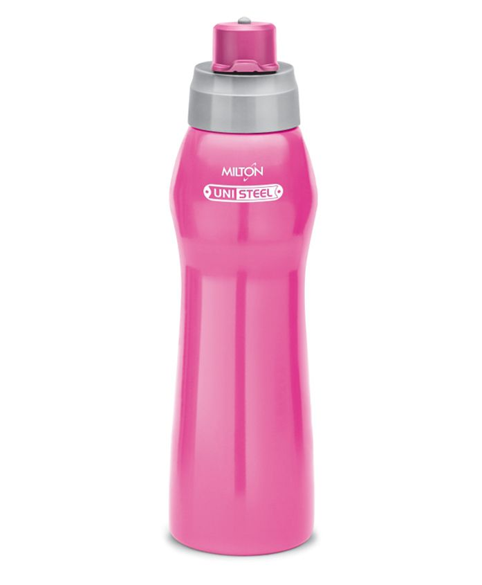Milton Active Unisteel Water Bottle Pink - 920 ml