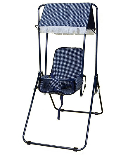 Mothertouch Garden Swing Navy Blue