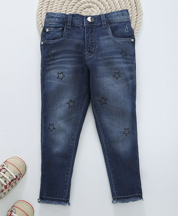 Gini & Jony Full Length Jeans - Blue