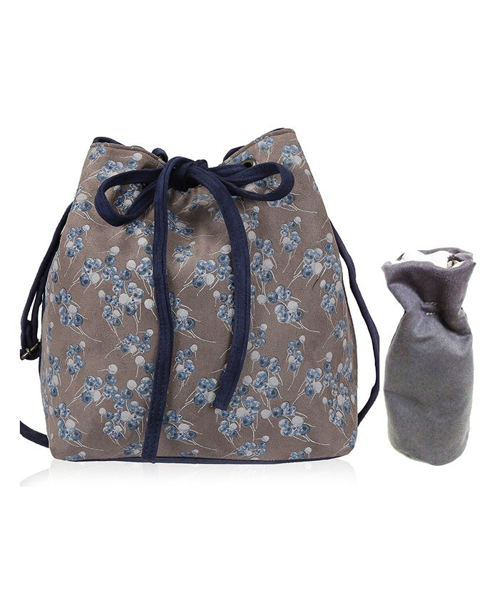 Lost & Found Mini Bag with Bottle Cover - Blue