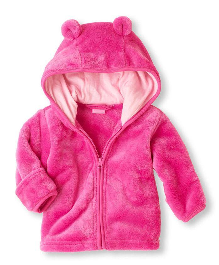 Pre Order - Awabox Long Sleeves Hooded Jacket - Pink