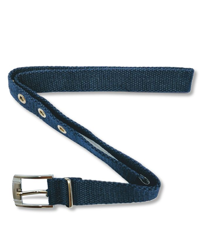Kid-O-World Cotton Buckle Closure Belt - Blue
