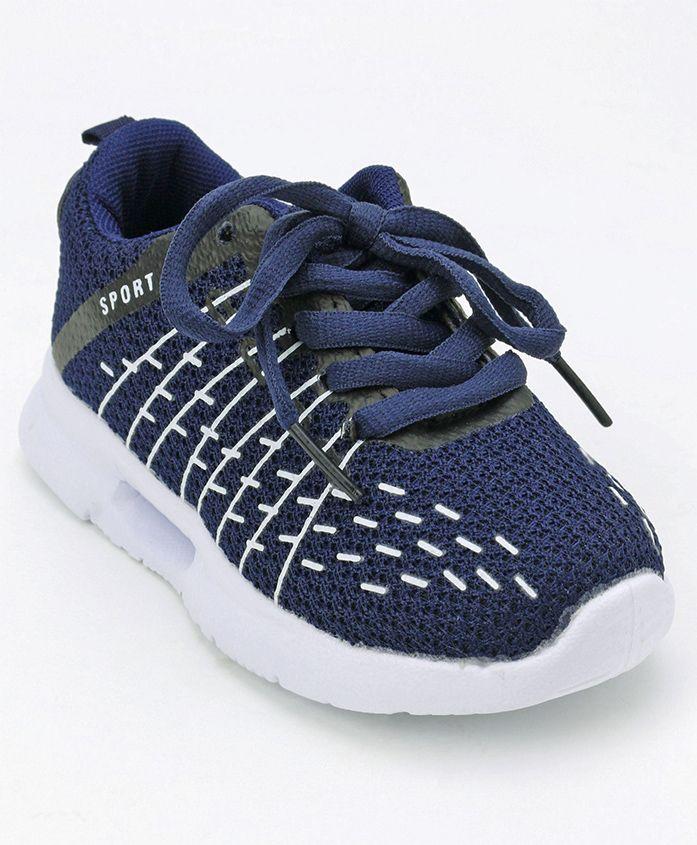 Cute Walk by Babyhug Sports Shoes - Blue