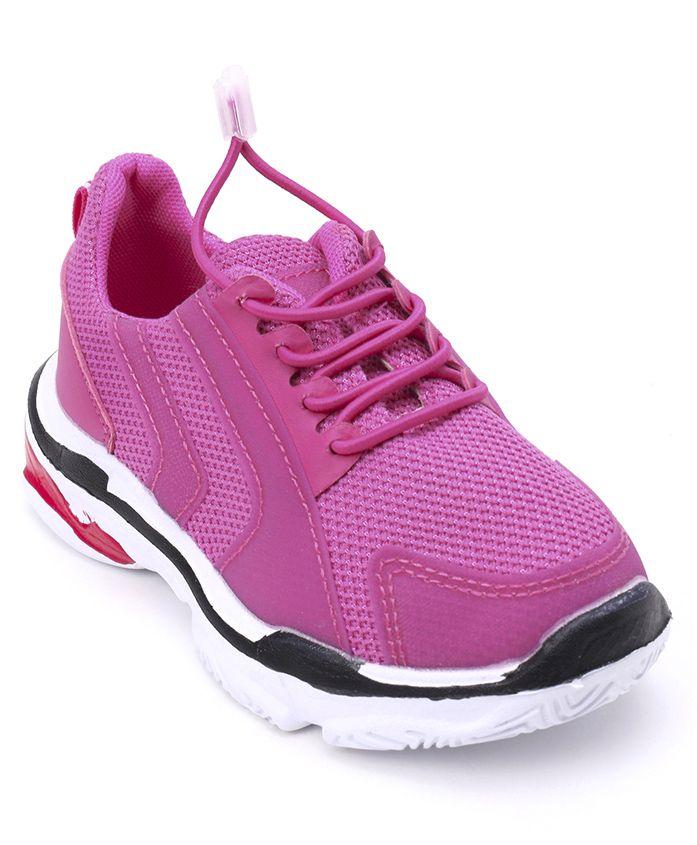 Cute Walk by Babyhug Sports Shoes - Pink