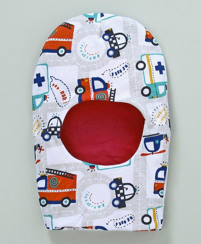 Ben Benny Monkey Cap Vehicle Print - Multi Colour