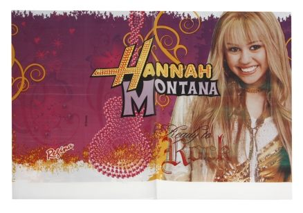 Disney Hannah Montana Table Cover