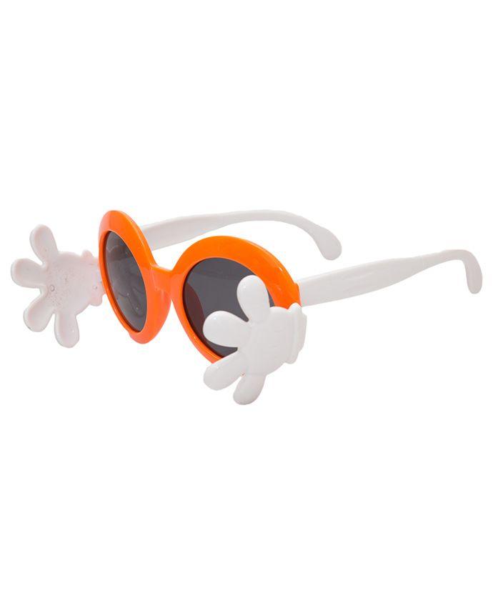 Kidofash Hand Closure Sunglasses - Orange