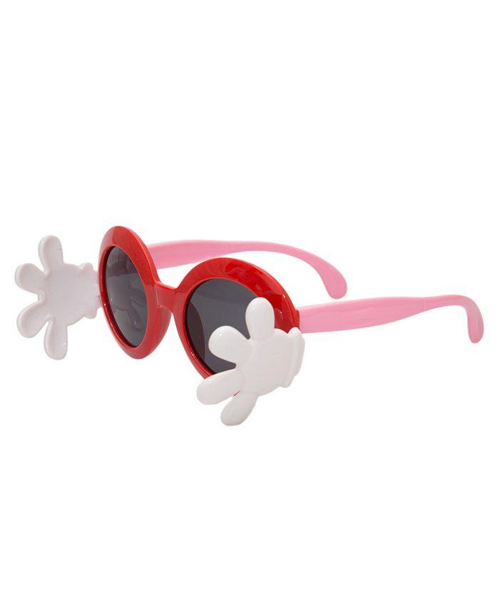Kidofash Hand Closure Sunglasses - Red