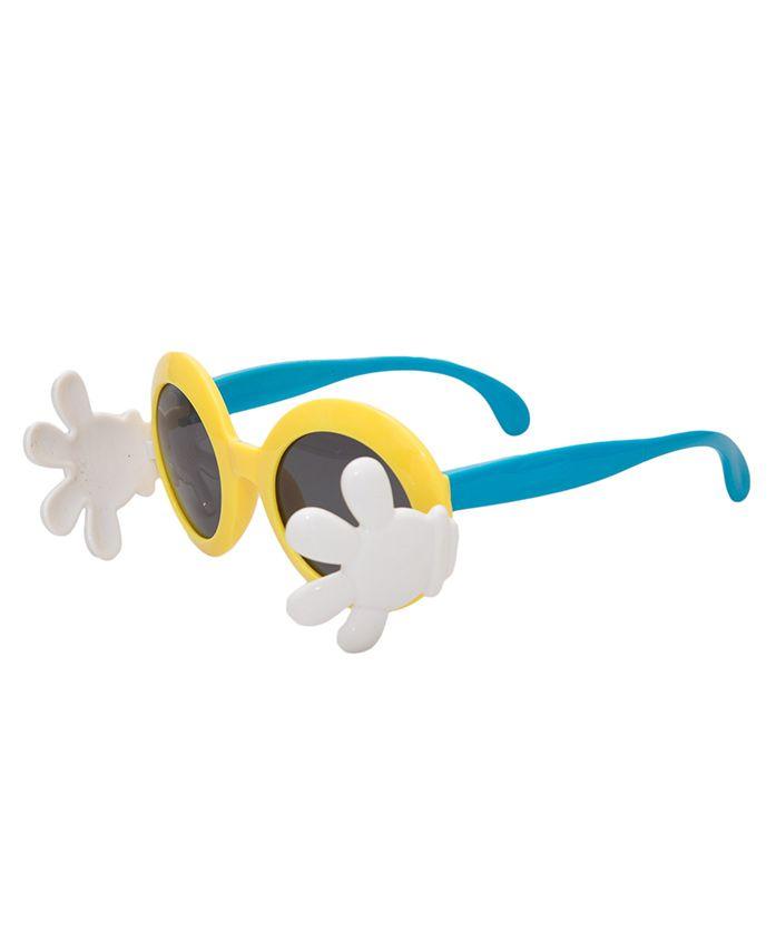 Kidofash Hand Closure Sunglasses - Yellow