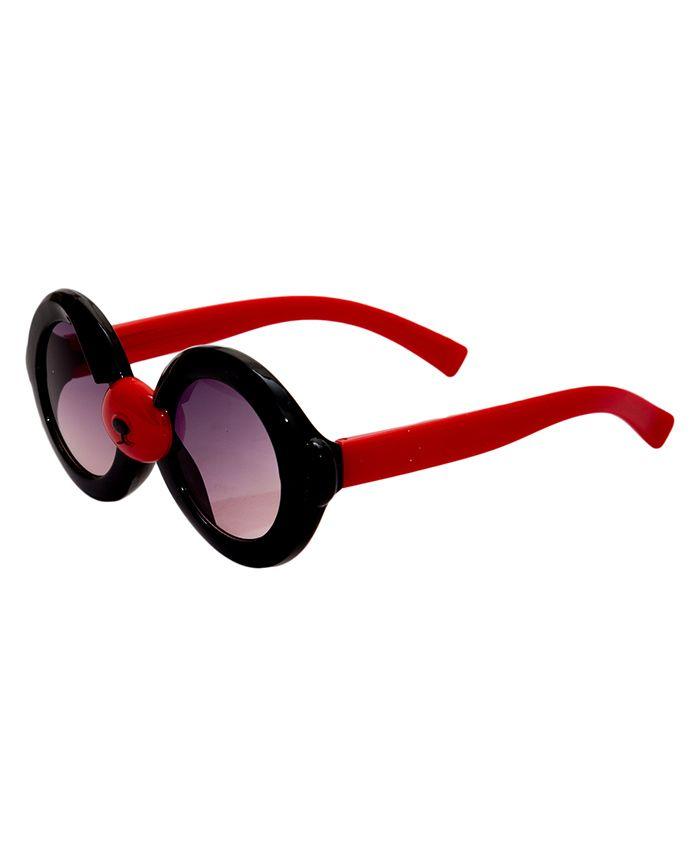 Kidofash Round Sunglasses - Black