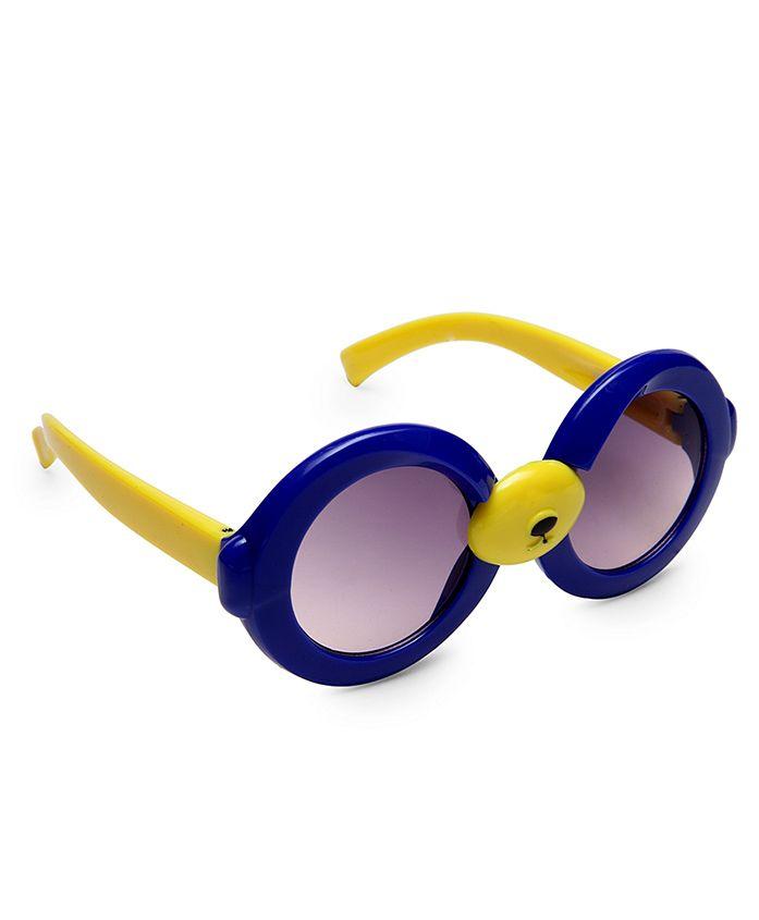 Kidofash Round Sunglasses - Blue