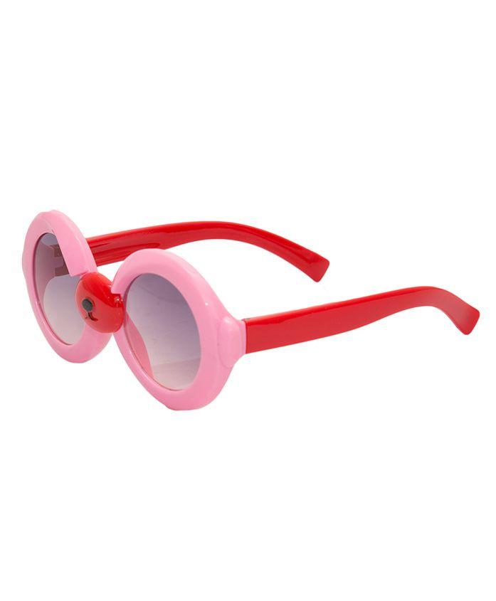Kidofash Round Sunglasses - Light Pink