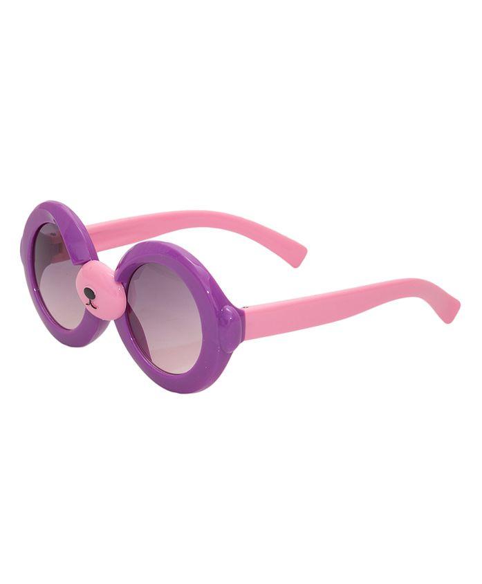 Kidofash Round Sunglasses - Purple