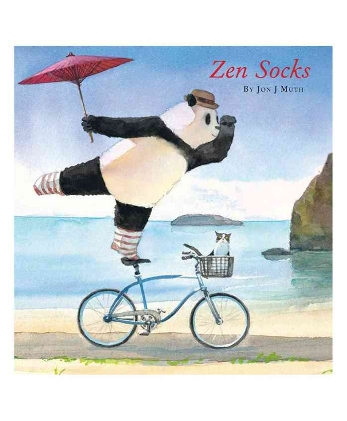 Scholastic Zen Socks Story Book - English