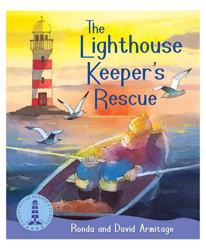 Scholastic The Lighthouse Keepers Rescue Story Book - English