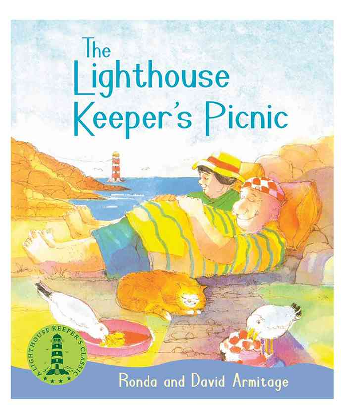 Scholastic The Lighthouse Keepers Picnic Story Book - English