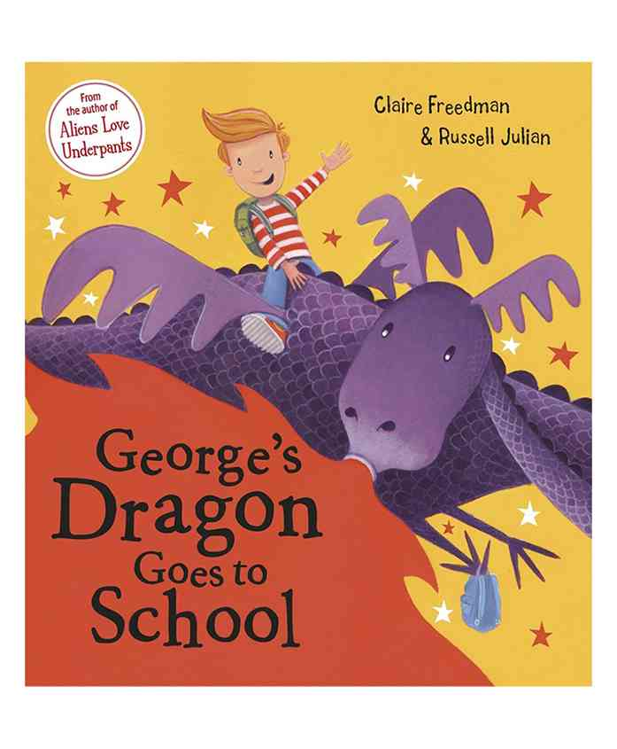 Scholastic Georges Dragon Goes To School Story Book - English