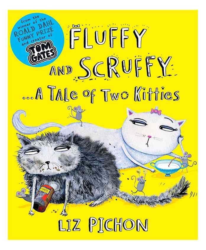 Fluffy And Scruffy By Liz Pichon - English