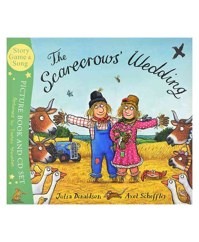 The Scarecrows Wedding Book & CD - English