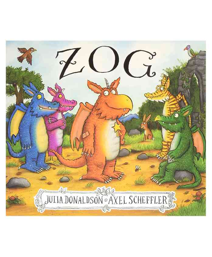 Zog Story Book By Julia Donaldson & Axel Scheffeler - English