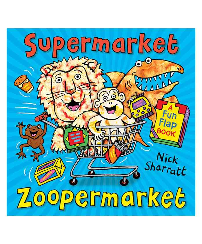 Scholastic Supermarket Zoopermarket Picture Book - English