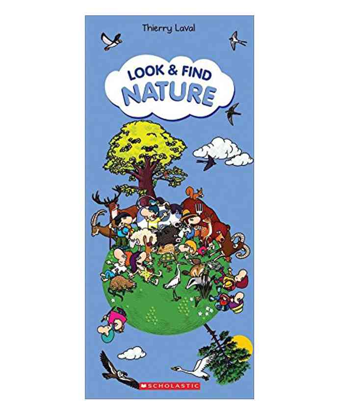 Scholastic Look & Find Nature Learning Book - English