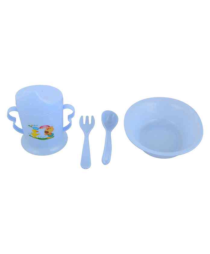 Home Union Feeding Set Blue - Pack of 4