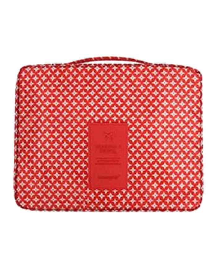 Home Union Multi Utility Organiser Pouch - Red