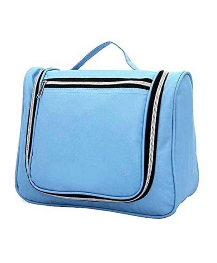 Home Union Canvas Organiser Bag - Sky Blue