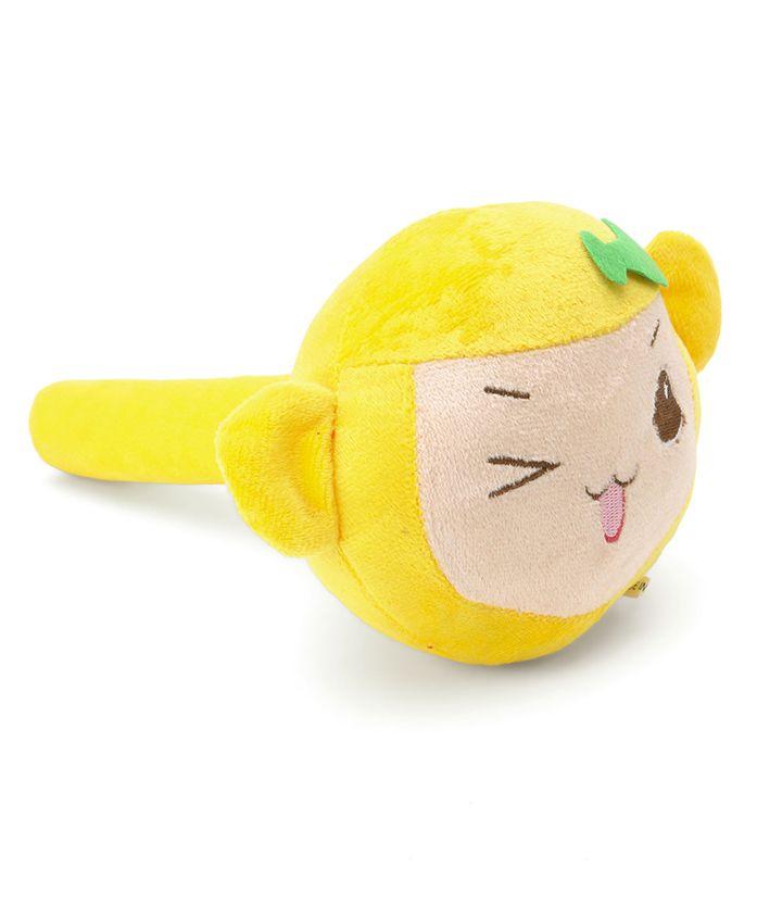 Fish Face Plush Musical Hammer - Yellow