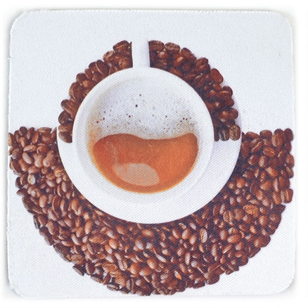 meSleep Coffee Beans Anti Skid Coaster