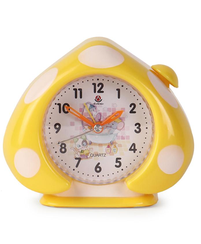 Leaf Shaped Alarm Clock - Yellow