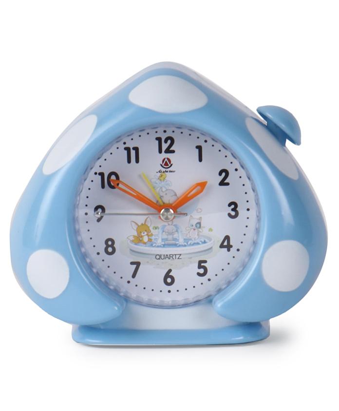 Leaf Shaped Alarm Clock - Blue