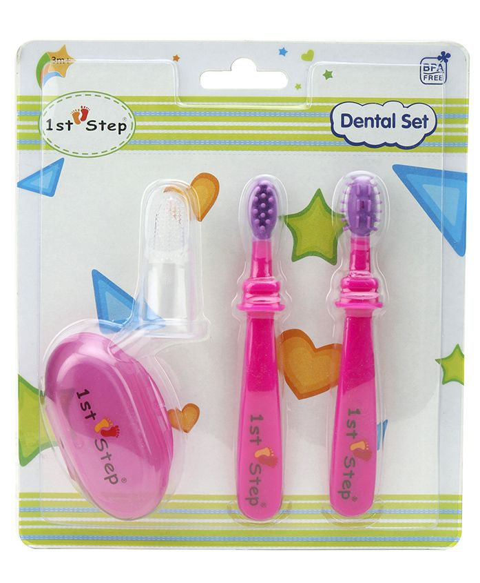 1st Step Dental Set - Pink