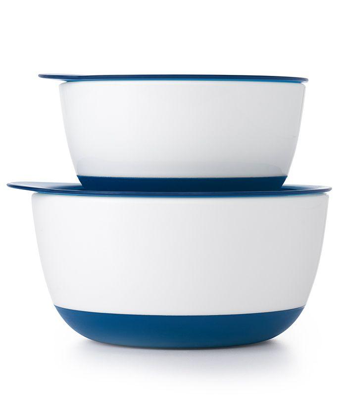Oxo Tot Small & Large Bowl Set - Navy