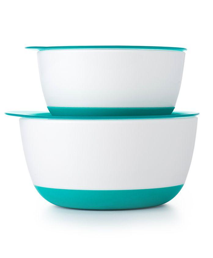 Oxo Tot Small & Large Bowl Set - Light Blue